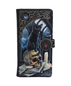 Spirits of Salem Embossed Purse(LP) 18.5cm