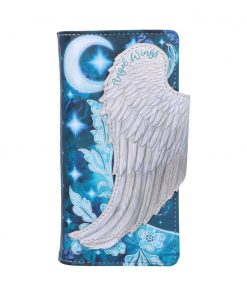 Angel Wings Embossed Purse 18.5cm