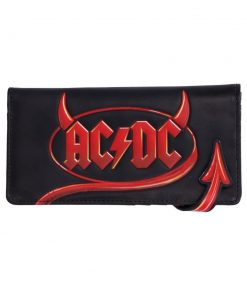 ACDC Embossed Purse 18.5cm