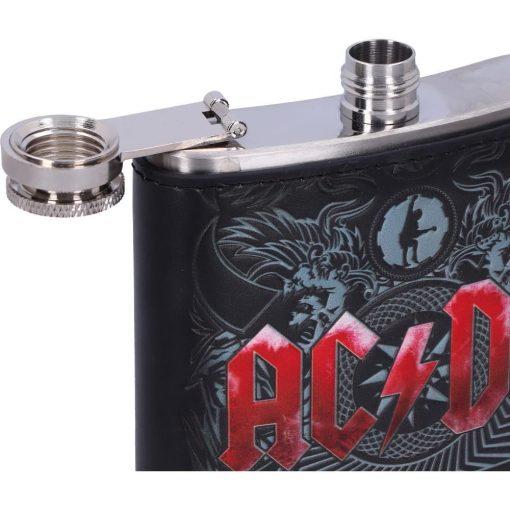 ACDC Black Ice Hip Flask