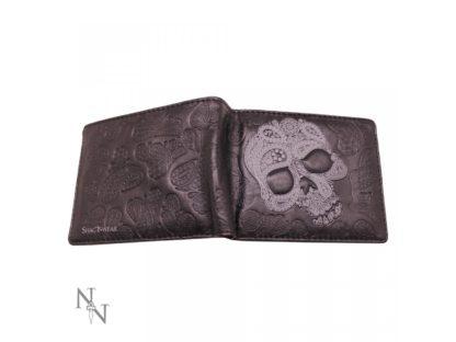 Wallet - Abstract Skull 11cm