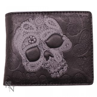 Wallet - Abstract Skull 11cm