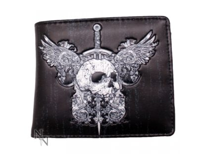 Wallet - Skull & Wings 11cm