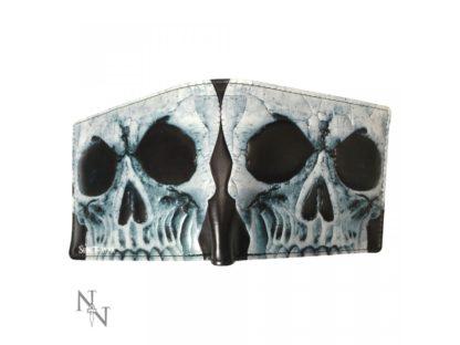 Wallet - Skull 11cm