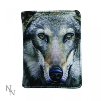 Portrait of a Wolf Purse (Small) 11.5cm