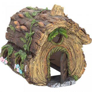 Hollow Log House 17cm