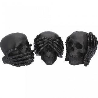Dark See No, Hear No, Speak No Evil Skulls (S/3)