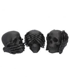 Dark See No, Hear No, Speak No Evil Skulls (S/3)