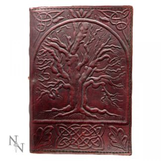 Tree Of Life Leather Embossed Journal 18 x 25cm