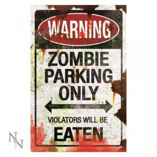 Zombie Parking Sign 43cm