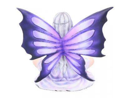 Amethyst Lotus. 14cm
