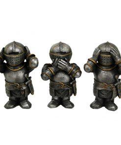 Three Wise Knights 8.8cm