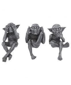 Three Wise Goblins 12cm