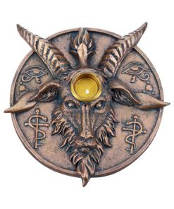 Baphomet's Prayer Incense and Candle Holder 12.6cm