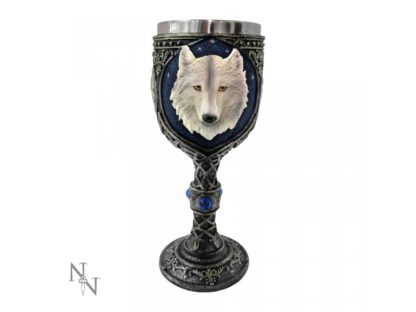 Ghost Wolf Goblet 19.5cm