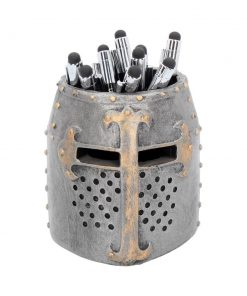 Crusader Pen Pot 11cm