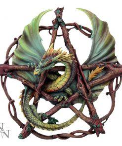 Forest Pentagram Dragon 32.5cm