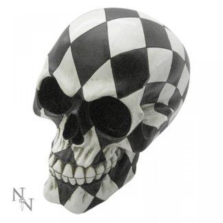 Harlequin Skull 15.8cm