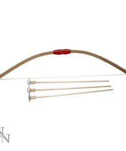 Wooden Bow & 3 Arrows 68cm