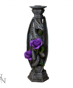 Dragon Beauty Candle Stick (AS) 25cm