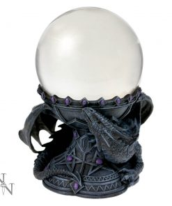Dragon Beauty Crystal Ball Holder (AS) 18cm