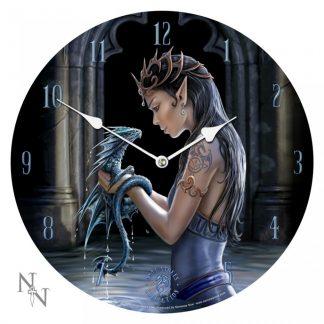 Water Dragon Clock - AS 34cm