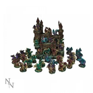 Dragon Castle Set 36pcs 25cm