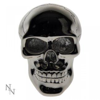 Silver Skull Gear Knob 8cm