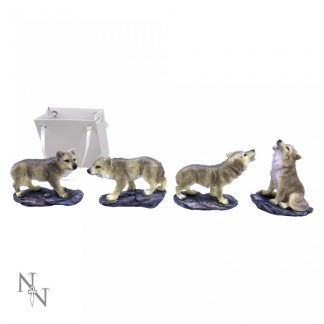 The Wolf Pack (Set of 24) 6cm