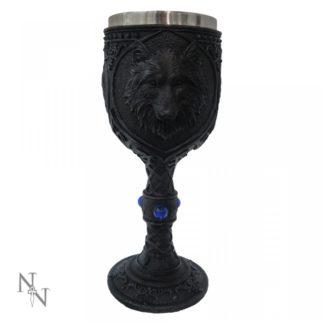 Night Wolf Goblet 19.5cm