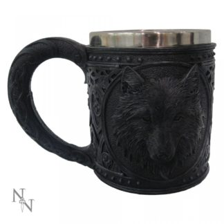 Night Wolf Tankard 15.4cm