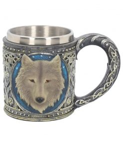 Lone Wolf Tankard 15.4cm