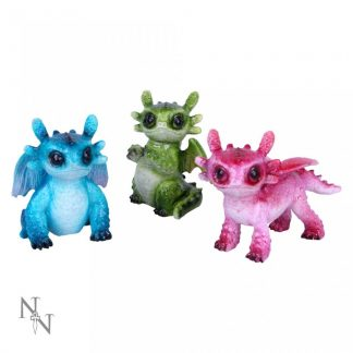 Tiny Dragons (Set of 3) 6.5cm