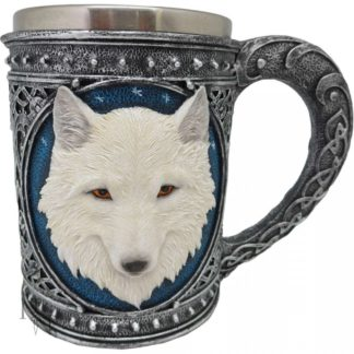 Ghost Wolf Tankard Large 17cm