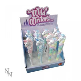 Wild Writers Unicorn Pens 16cm (Display of 12)