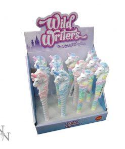 Wild Writers Unicorn Pens 16cm (Display of 12)
