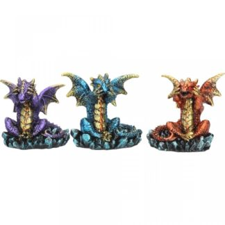 Three Wise Dragons (Set of 3)