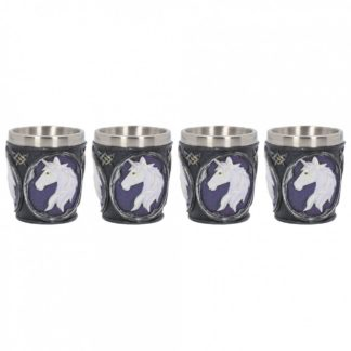 Unicorn Elixir Shot Glass (Set of 4) 6.5cm