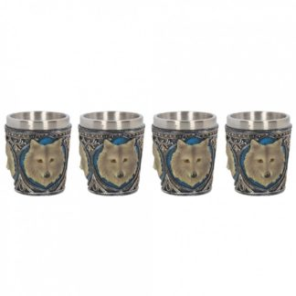 Lone Wolf Shot Glass (Set of 4) 6.5cm