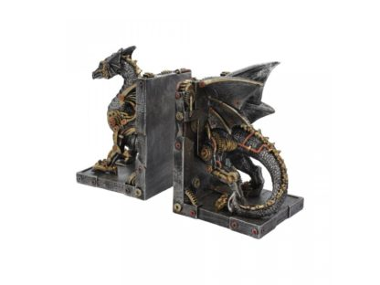 Dracus Machina Bookends 27cm