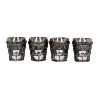 Templars Shot Glass (Set of 4) 6.5cm