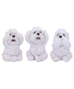 Three Wise Westies 8cm