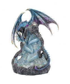 Dragons Intrigue Backflow Incense Burner 21.5cm