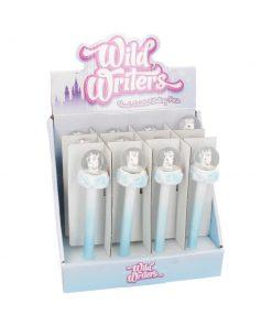 Wild Writer Unicorn Water Ball Pen 16cm (set of 12