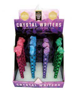 Crystal Writers (Display of 12) 16cm