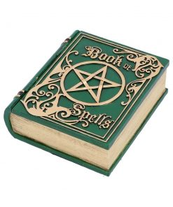 Book of Spells Green 15.5cm