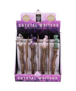 Crystal Writers-Crystal Sceptre Pens Display of 12