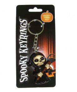 Spooky Keyrings - Reaper 5cm (Pack of 12)