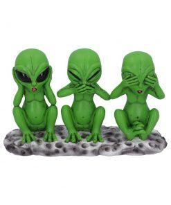Three Wise Martians 16cm
